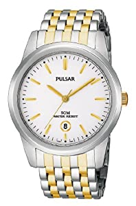 Pulsar Herren-Armbanduhr Analog Edelstahl PG8121X1