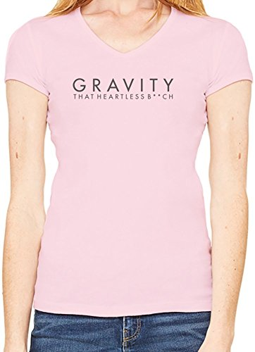 Gavity That Heartless Bitch T-Shirt V collo Donne XX-Large