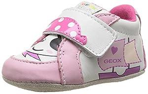 Geox B Ian G B - Primeros Pasos de cuero Bebé - niña por Geox