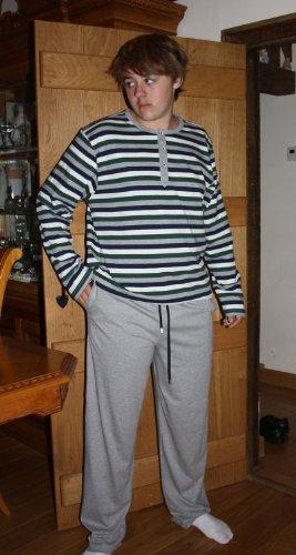 New Mens Jockey Designer Cotton Long Pyjama nightwear lounge wear Striped Top Plain Bottoms 4XL