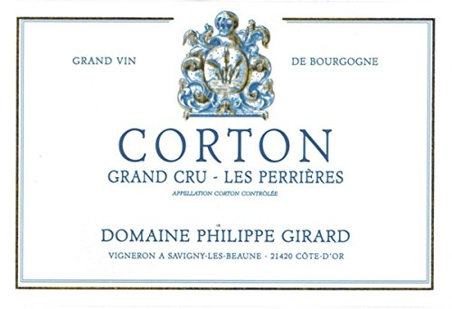 2011 Domaine Philippe Girard: Corton Grand Cru Perrieres 750 Ml