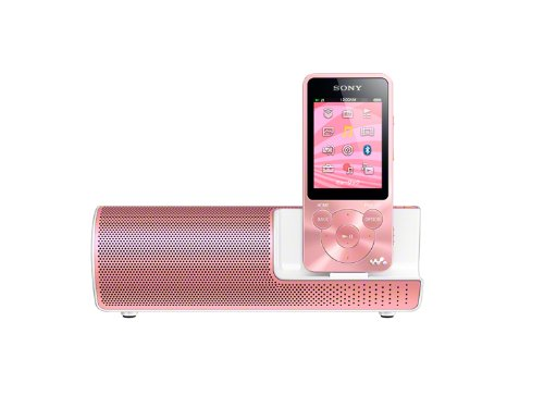 Sony speakers included digital audio player walkman (Light Pink / 8GB) NW-S784K PI