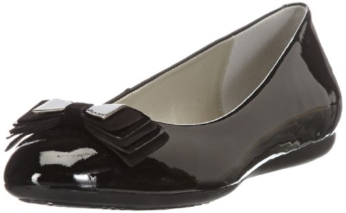 Geox Womens D LOLA C Closed Black Schwarz (BLACK C9999) Size: 41