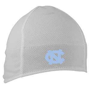 NCAA North Carolina Tar Heels Midcap High Performance Beanie, White