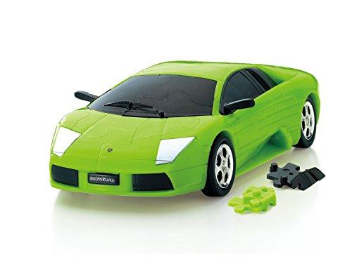 Car Puzzle 3D (Lamborghini/Murcielago / Green)