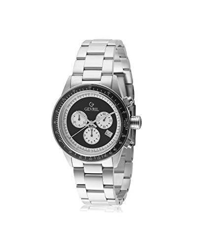 Gevril Men's A2114 Tribeca Analog Display Quartz Silver Watch