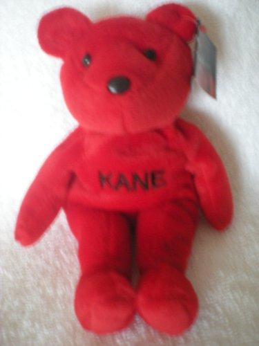 """WWF Attitudes 9"""" Bear KANE (No Kane No Pain)"""