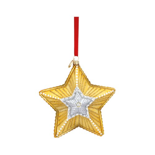 Reed & Barton C0008 Star of Hope Ornament, 4-1/2-Inch High