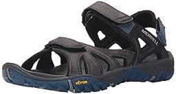Merrell Men\'s All Out Blaze Sieve Convertible Water Sandal, Grey, 10 M US