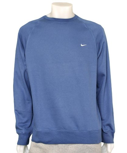 Mens Nike Crew Neck Sweatshirt Top Blue Size X-Large Chest 46/48