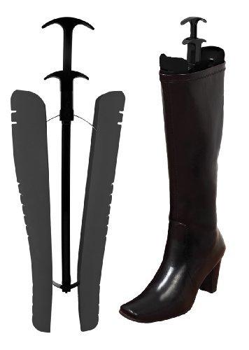 simplify-set-of-2-velvet-boot-shapers-black
