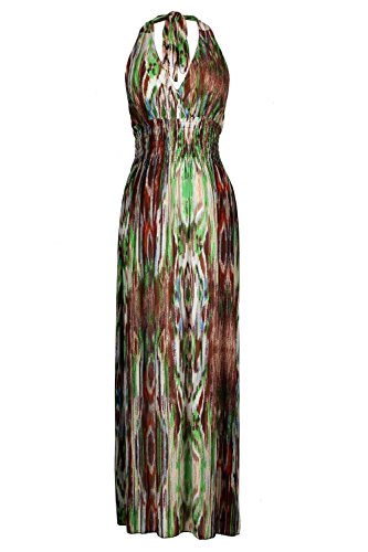 G2 Chic Women'S Summer Tribal Maxi Dress(Drs-Max,Grna2-Xxl)