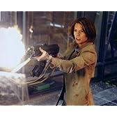 ブロマイド写真★『ターミネーター3』クレア・デーンズ/銃を撃つ