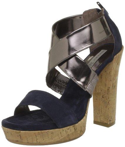 Tosca Blu Shoes ,  Sandali donna, Blu (Bleu (C30X Blue/Bronzo)), 37