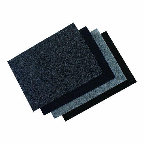 Xscorpion En4.15Bk 48-Inch X 15-Feet Piece Of Premium Un-Backed Subwoofer Enclosure Carpet (Black)