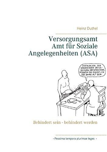 Buchcover: Versorgungsamt - Amt für Soziale Angelegenheiten (ASA)
