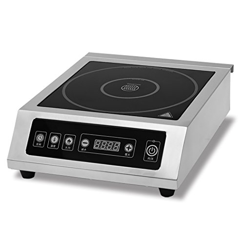 3500W Commercial Countertop Induction Cooktop Burner, Stainless Steel (30 Counter Top Stove compare prices)