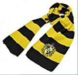 Harry Potter Costume Cosplay Fancy Dress Accessory Hufflepuff Scarf