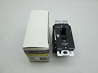 New general electric ge cr101y 1pole 230v ac 1hp manual for Ge manual motor starter