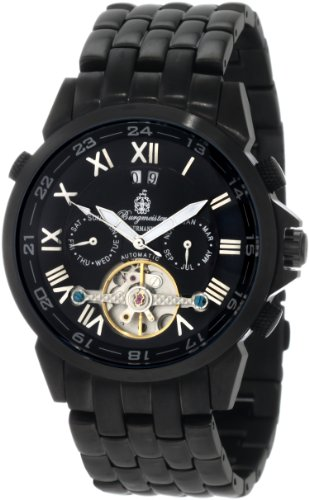 Burgmeister California BM118-622 Gents Automatic Analogue Watch with Black Dial