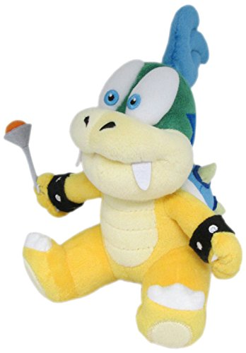 "Little Buddy Super Mario Series Larry Koopa 7"" Plush - 1"