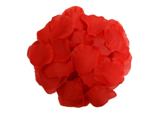 2000 Silk Rose Petals Wedding Decorations Bulk