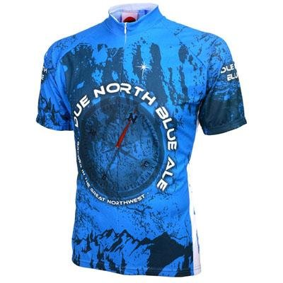 Image of World Jersey's Due North Ale Short Sleeve Cycling Jersey (B002TSOHLE)