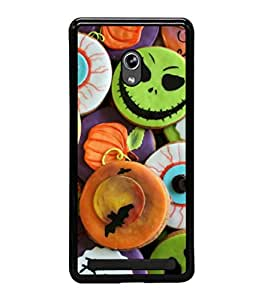 printtech Halloween Candy Sweets Back Case Cover for Asus Zenfone 5 , Asus Zenfone 5 A500CG