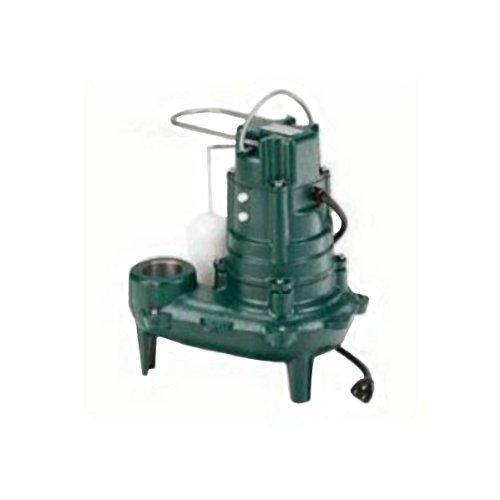 Zoeller M267 Waste-Mate Sewage Pump, 1/2 Horsepower, 115V