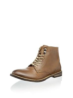 Ben Sherman Ikon Plectrum Men's Premium Leather Lace Up Boots (8-8.5 US (41), Tan)