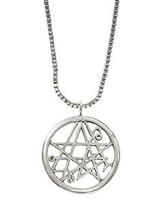 Sterling Silver Necronomican Pentagram Made in America
