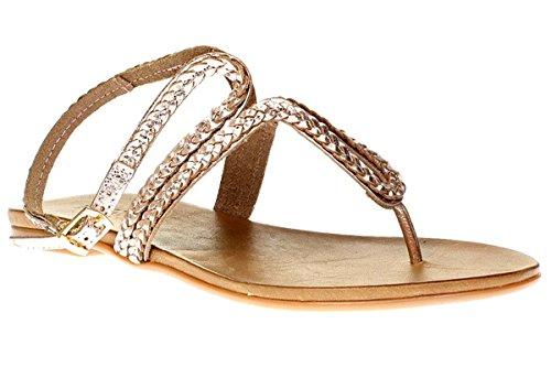 Inuovo 6196 - Sandali Da Donna Pantofole Infradito - Donna, lucido blush, 40 EU