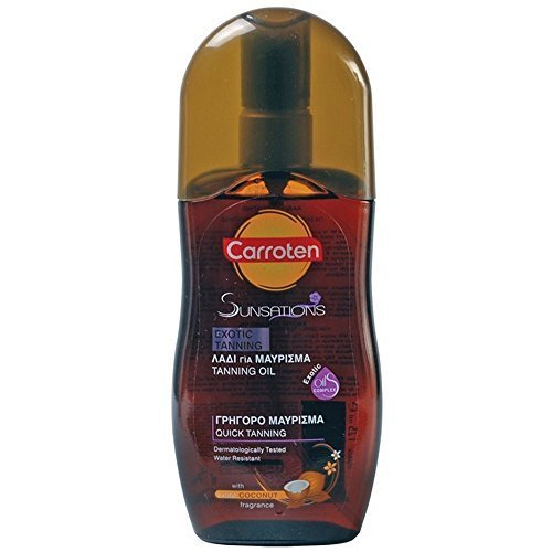 carroten-sunsations-tanning-oil-with-coconut-fragrance-spf0-125ml-423oz-by-carroten