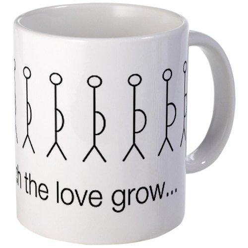 'Watch The Love Grow' Pregnancy Mug Mug By Cafepress