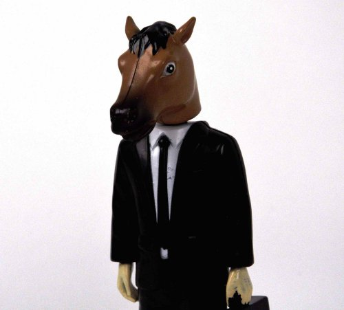 "Accoutrements Creepy Horse Man Dashboard Wiggler 6"" Vinyl Figure"