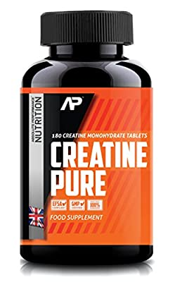 Creatine Pure | Creatine Monohydrate - 3000mg Daily | Flavoured Creatine Tablets - Sports Supplement | 180 Flavoured Tablets
