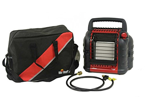 Mr Heater Buddy Deluxe portable heater With Carrying Case and 5' Hose (Mr Heater Case compare prices)