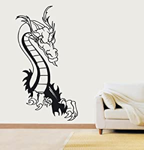 Tribal Dragon Wall Art Kitchen Bedroom Sticker WA4