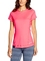 Brooks Camiseta Manga Corta Nightlife (Rosa)