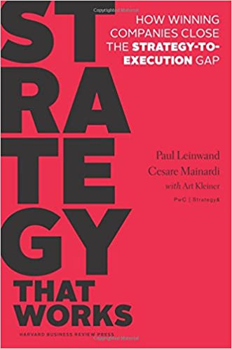 Strategy That Works: How Winning Companies Close the Strategy-to-Execution Gap written by Paul Leinwand