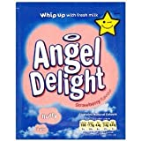1 Pack Angel Delight Strawberry Flavour 59 g