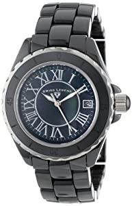 Swiss Legend Women's 20050-BKBSR Karamica Collection Black Ceramic Watch
