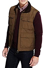 Blue Harbour Cotton Rich Gilet [T16-7499B-S]