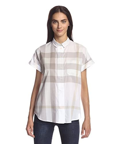 Burberry Women's Exploded Check Shirt