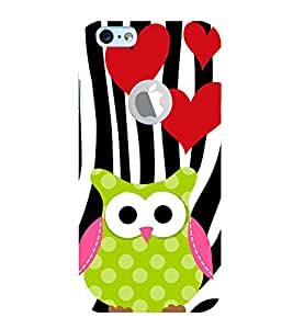 Vizagbeats owl cartoon Back Case Cover for Apple iPhone 6 logo cut
