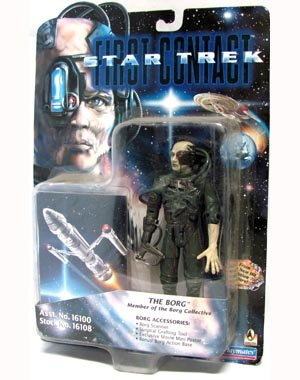 "Star Trek First Contact The Borg 6"" action figure"