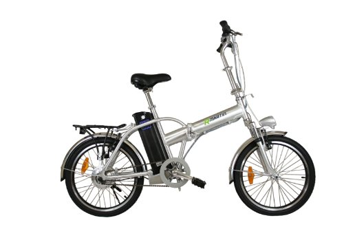 LF8 Silver Electric Bicycle