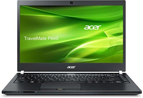 Acer TravelMate P645-S-70XF 35,6 cm (14 Zoll Full HD IPS) Notebook (Intel Core i7-5500U, 8GB RAM, 256GB SSD, Intel HD Graphics 5500, Win 10 Home, 3G) schwarz