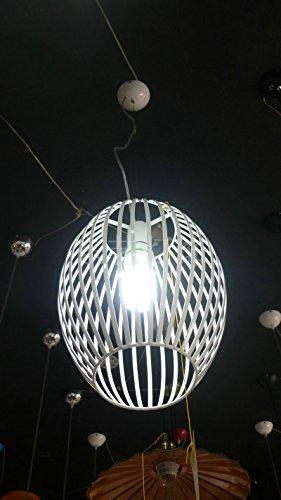Leitmotiv interno in alluminio lampada pendente,industriale stile vintage pendente retrò Luce Lampada da soffitto ombra?luce da soffitto lampadario per cucina,soggiorno,camera da letto,Bar,Ristorante decorazione 250-400?mm?