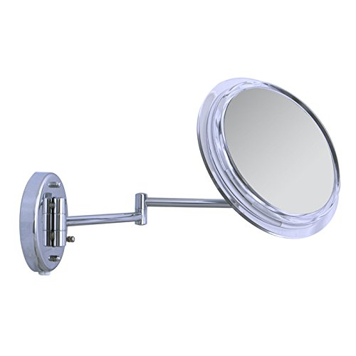 Zadro Surround Light Dual-Jointed Wall Mount Single Sided Vanity Mirror